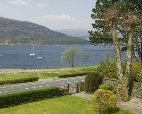 Buccleuch Lochside view