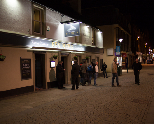 Visit Fort William: has many good pubs and restaurants