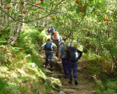 visit-fort-william: hiking in Glen Nevis